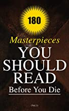 180 Masterpieces You Should Read Before You Die (Vol.1): Leaves of Grass, Siddhartha, Middlemarch, The Jungle, Macbeth, Moby-Dick, A Study in Scarlet, ... The Way We Live Now, Sister Carrie...