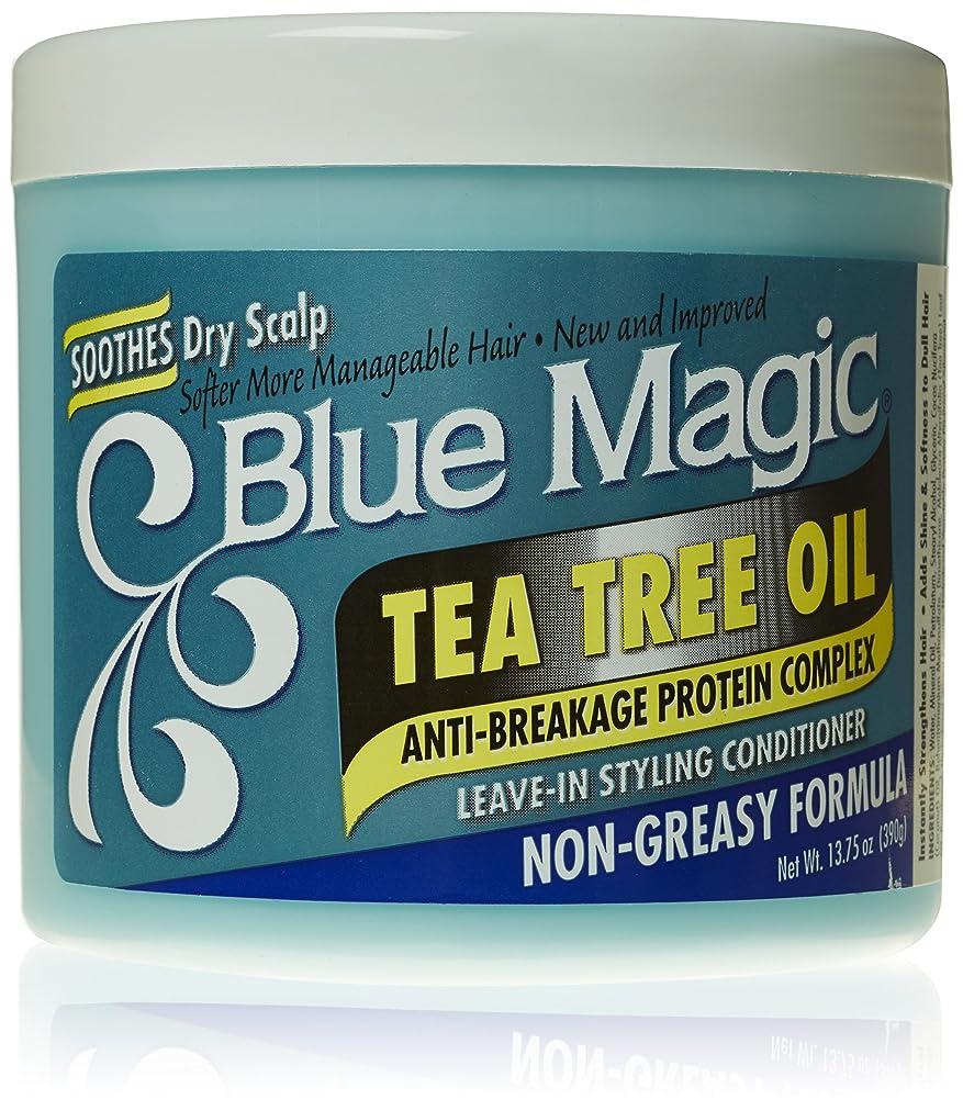 検索エンジンマーケティングチャペル精緻化Blue Magic ティーツリーは、リーブインヘアスタイリングコンディショナー、13.75オンス