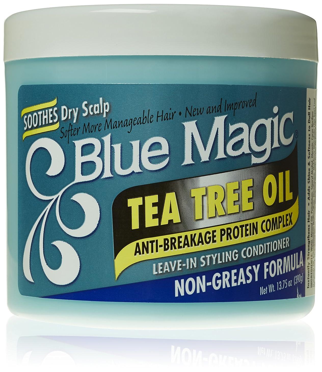 スパークナット震えBlue Magic ティーツリーは、リーブインヘアスタイリングコンディショナー、13.75オンス