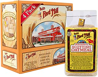 Bob's Red Mill Scottish Oatmeal, 20 Oz (4 Pack)