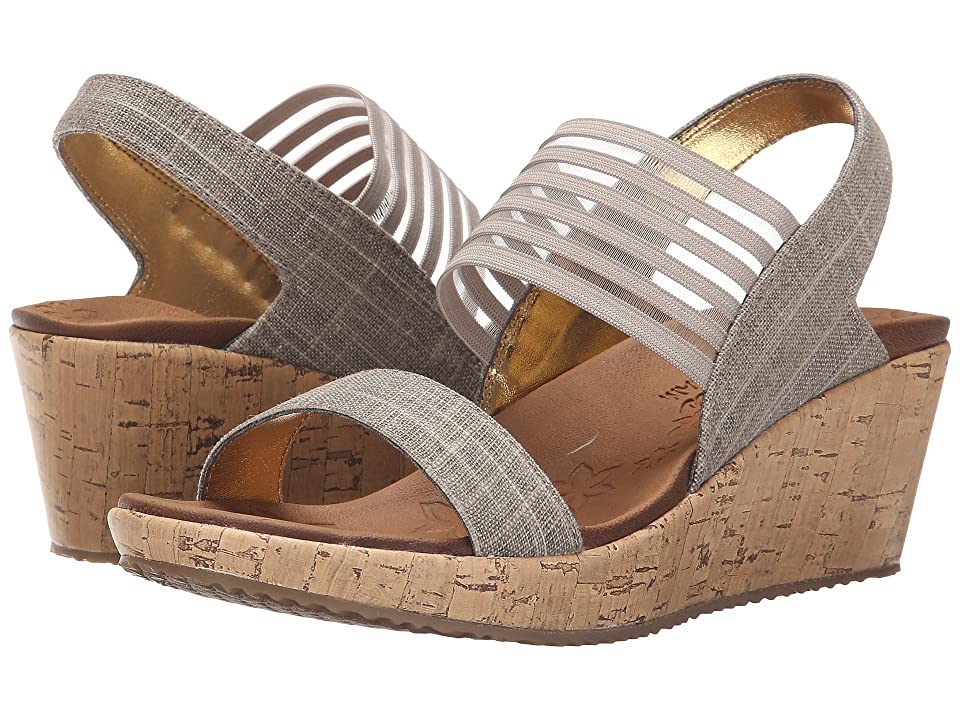 2c08e5cc549a SKECHERS Cali Beverlee Smitten Kitten (Taupe) Women s Sandals. On sale - now  ...