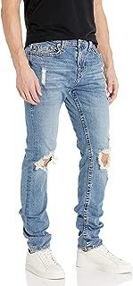 True Religion Men's Rocco Big T Skinny Leg fit Jean with Back Darts