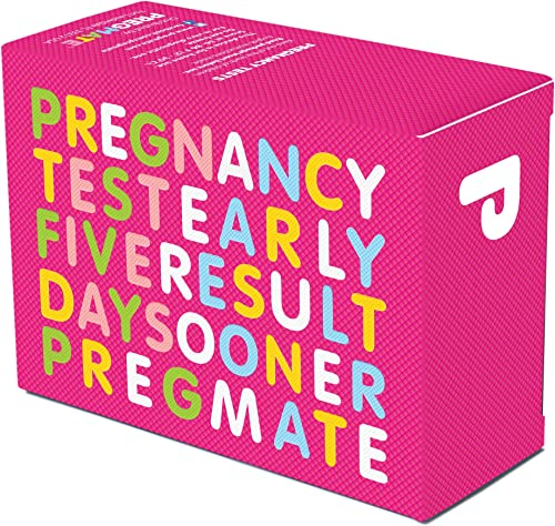PREGMATE 25 Pregnancy Test Strips (25 Count)
