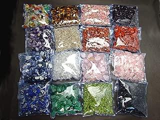 浄化用さざれ石16種類(各100g) 1600g  クリスタル・インカローズ・ディープローズクォーツ・レッドジャスパー・ナンホーン瑪瑙・タイチンルチルクォーツ・ラピスラズリ等 ミックス石 天然石 パワーストーン
