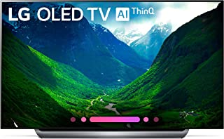 LG Electronics OLED77C8PUA 77-Inch 4K Ultra HD Smart OLED TV (2018 Model) (Renewed)