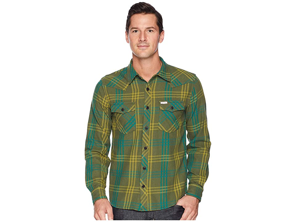 Topo Designs Mountain Shirt Plaid (Green) Men