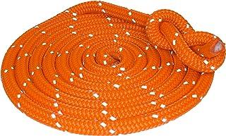 Hamburger Tauwerk Fabrik Outdoorseil ECO-Flash Orange mit refl. Kennfaden Seil Durchmesser 10mm Länge: 10m