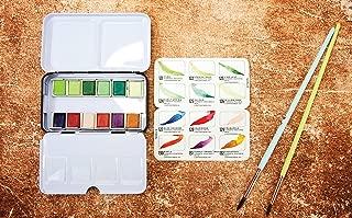 Prima Marketing 639785 Prima Confections Watercolor Pans 12/Pkg-Terrain, Original