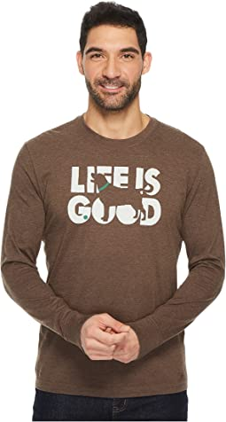 Fetch Life Is Good® Long Sleeve Crusher Tee
