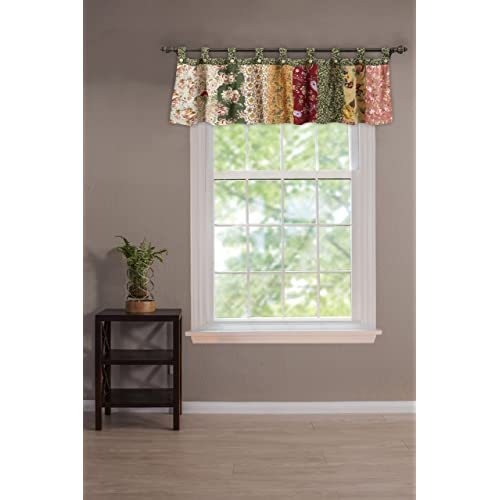 Tab Top Valances Window Treatments Amazoncom