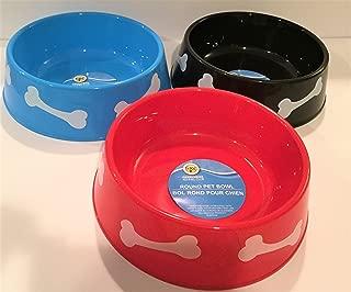 TBC Home Decor Round Plastic Pet Bowls - 9 3/4 inch