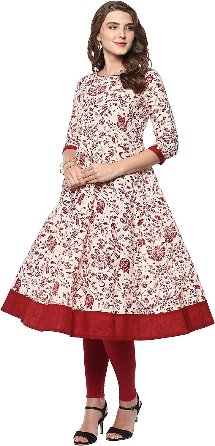 Janasya Indian Tunic Tops Women Cotton for Super Limited Special Price sale period limited Kurti