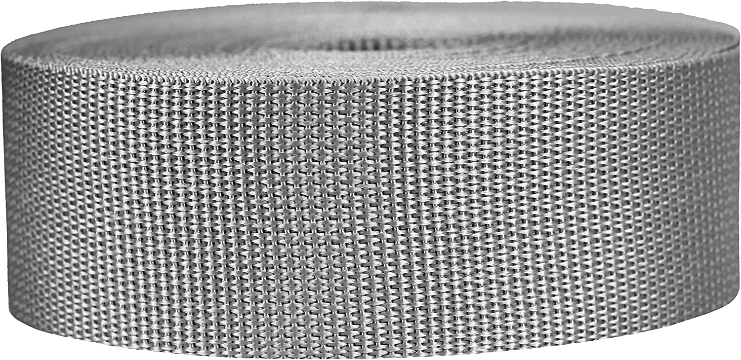 Strapworks Lightweight Polypropylene Webbing - Poly Strapping fo