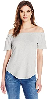6f63576d0041 Olive   Oak Womens Lorraine Off The Shoulder Top T-Shirt