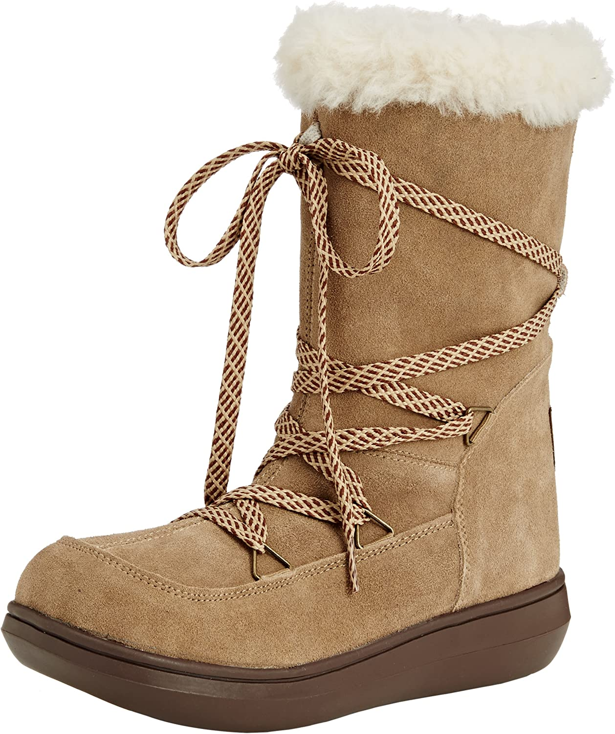 Rocket Dog Snowcrushed Womens Suede Winter Boots