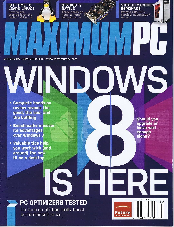 ご予約ギャンブルデータMaximum PC [US] November 2012 (単号)