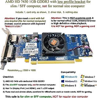AMD Radeon HD 74501GB tarjeta gráfica–bd3a75* * * Usa * * *