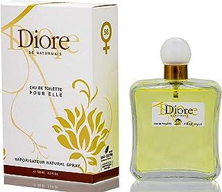 Diore Eau De Toilette Intense 100 ml. Compatible avec Eau De Parfum J'adore, Parfum Générique Femme