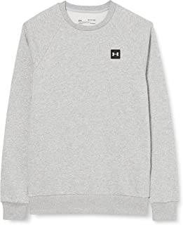 Under Armour Men's Rival Fleece Crew Sports Jumper with Loose Fit, Comfortable and Warm Men's Jumper