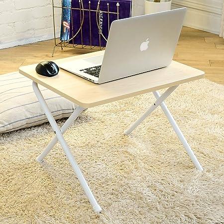 [山善] ローテーブル 折りたたみ ミニ 傷・汚れ・水分・熱に強い 幅50×奥行44×高さ35.5cm ひとり暮らし サイドテーブル PCテーブル 完成品 ウッドナチュラル RYST5040L(WN/WH2) テレワーク