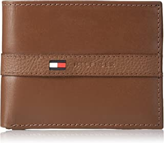 Tommy Hilfiger Men's Thin Sleek Casual Bifold Wallet with 6 Credit Card Pockets and..