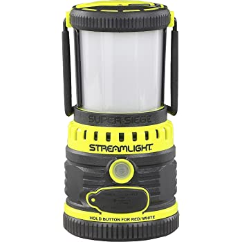 Streamlight 44945 Super Siege 120V AC, Yellow - Rechargeable and Portable USB Charger - 1,100 Lumen