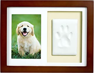 Tiny Ideas Dog or Cat Paw Print Keepsake Wall Frame Kit