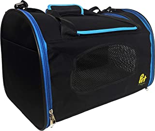 Pet Magasin Foldable Pet Carrier Waterproof,  Collapsible Soft Pet Transport Bag for Cats,  Small Dogs & Pets for Car & Plane