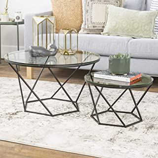 Best round glass nesting coffee tables Reviews