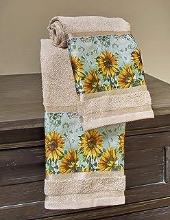 Amazon Com Flowers Plants Hand Towels Towels Home Kitchen