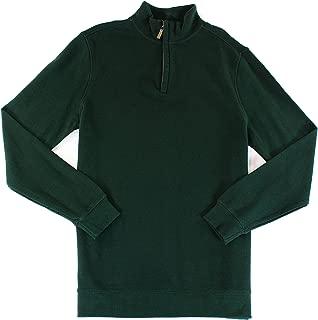 Tasso Elba Mens Quarter-Zip Pullover Sweater