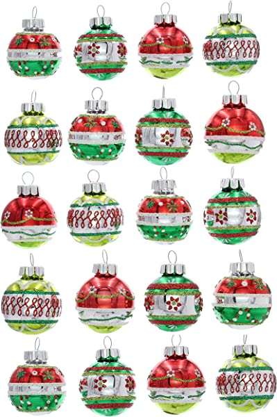 Christopher Radko Holiday Splendor 1 25 20 Count Decorated Christmas Rounds