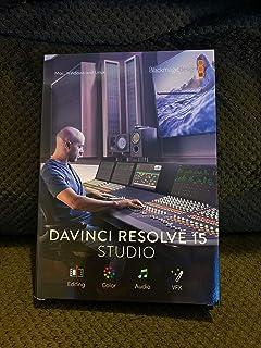 Blackmagic Design DaVinci Resolve Studio for Mac/Win/Linux (BMD-DV/RESSTUD)