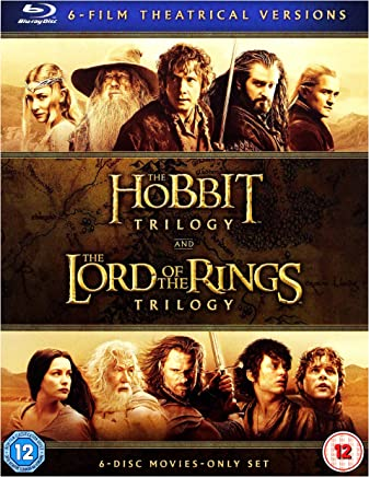 The Hobbit Trilogy and The Lord Of The Rings Trilogy, 6-Film Theatrical Versions