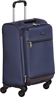 AmazonBasics Softside Spinner Luggage - Azul Marino