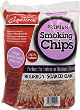Camerons Smoking Chips - (Bourbon Soaked Oak) Kiln Dried, 100% Natural Extra Fine Wood Smoker Sawdust Shavings - 2lb Barbecue Chips