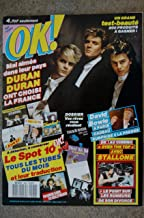 OK ! âge tendre 586 AVRIL 1987 DURAN DURAN STALLONE OVER THE TOP DAVID BOWIE FRANKIE GOES TO HOLLYWOD + FICHES SPOT 10