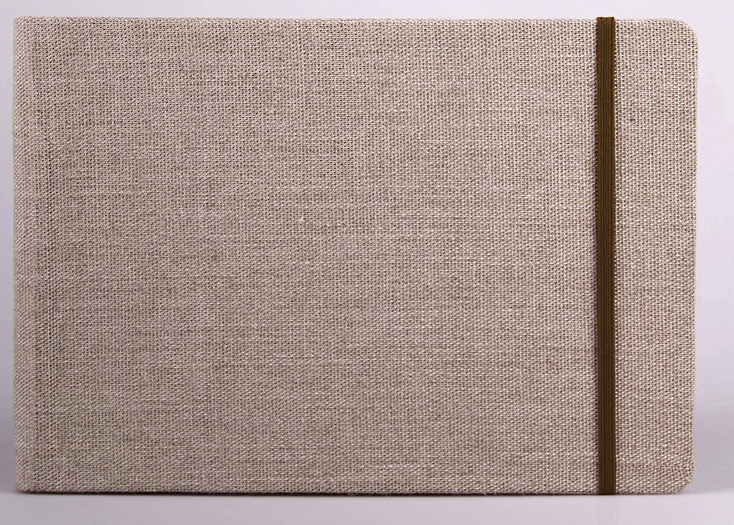 Clairefontaine Goldline Mixed-Media Sketchbook & Journal, Landscape, 8.25 by 11.75 Inches, 30 Pages (96107)