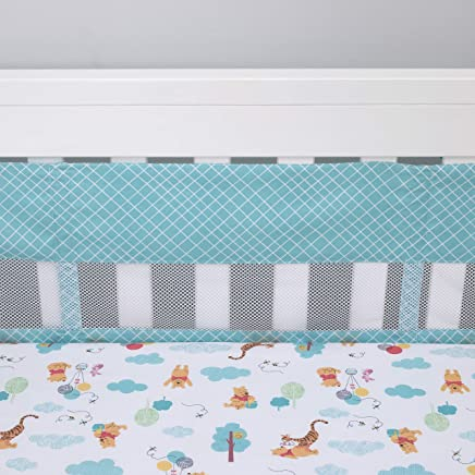 featured product Disney Winnie The Pooh First Best Friend Secure-Me Crib Liner,  Aqua/White