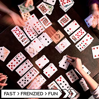 Brybelly Nertz: The Fast Frenzied Fun Card Game - 12 Decks of Playing Cards in 12 Vibrant Colors, Bulk Set of Poker W...