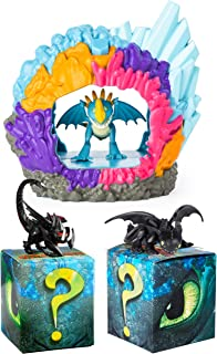 Dreamworks Dragons Stormfly Hidden World Playset with Mystery Dragon 2-Pack (Toothless, Death Gripper)