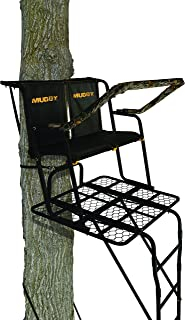 Muddy Partner 2-Man Ladderstand, Black