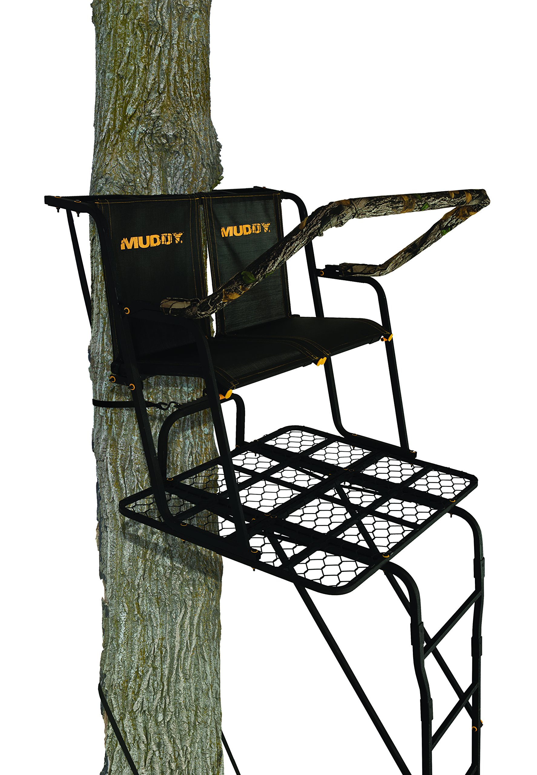 Muddy Partner 2 Man Ladderstand Black