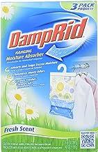 DAMPRID 773822075241 FG83K Hanging Moisture Absorber Fresh Scent (3 Boxes of 3 Bag, Blue