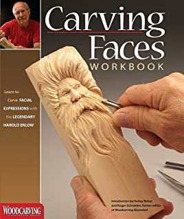 Carving Faces Workbook: Learn to Carve Facial Expressions with the Legendary Harold Enlow..