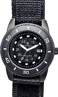 Men's SWW-5982 Commando Black Nylon Strap Watch