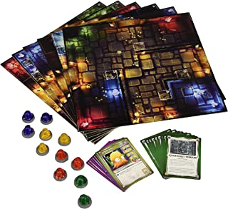 Ninja Division Dungeon Tiles Dungeons of Crystalia Board Game