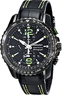 Seiko Men's SNAE97 Sportura-Aviator Watch