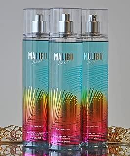 Bath and Body Works Malibu Heat Fine Fragrant Mist 8 Ounce Each
