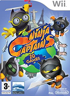Ninja Captains (Wii) [Importación inglesa]